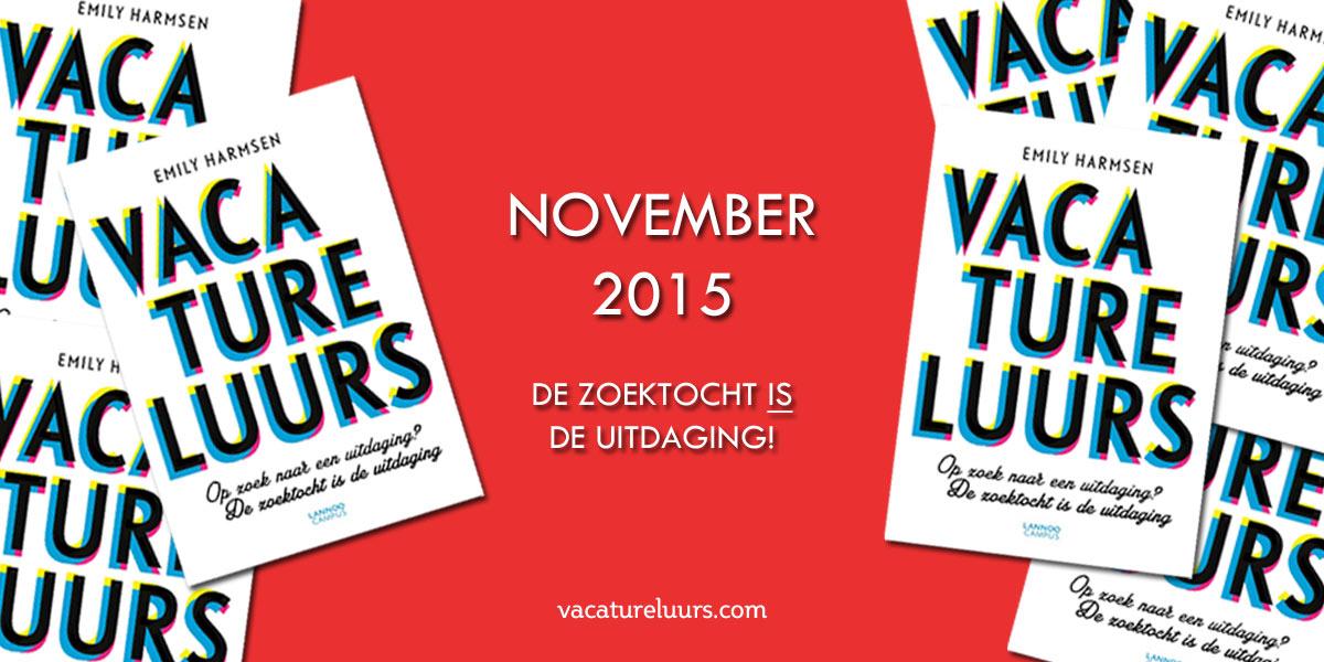 Vacatureluurs – Het boek!